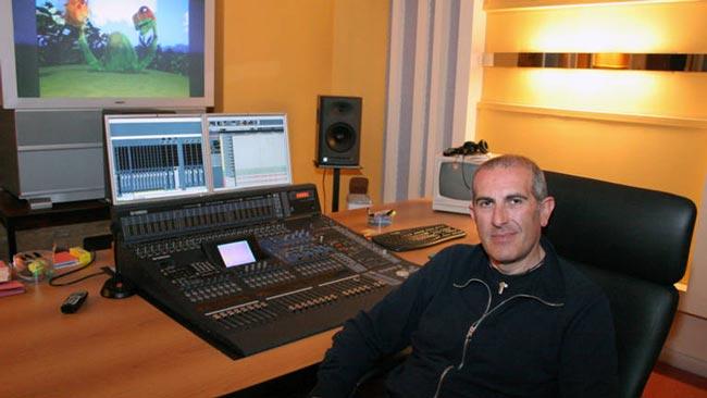 Foto del doppiatore Marco Balzarotti