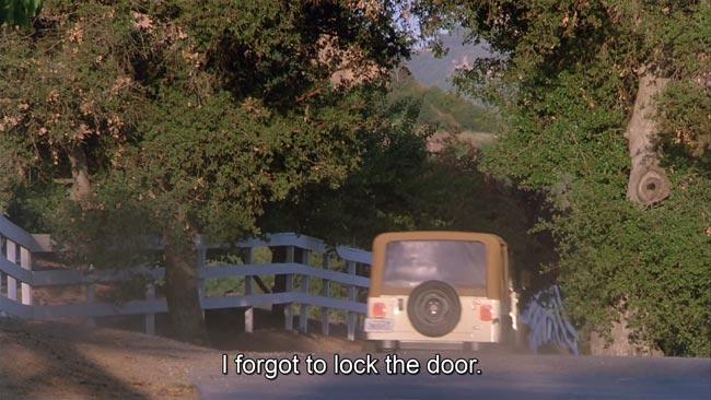 Hard to kill I forgot to lock the door