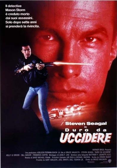 Locandina italiana di Duro da Uccidere, Hard to Kill, film con Steven Seagal