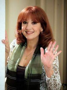 Una foto di Marina Tagliaferri attrice e doppiatrice