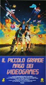 Locandina italiana del film Il piccolo grande mago dei videogames