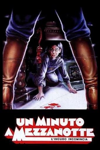Locandina italiana di Un minuto a mezzanotte del 1989