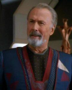 Richard Kiley in Star Trek Deep Space Nine