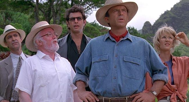 Scena dal film Jurassic Park dove si parla del Cordon Bleu Alejandro