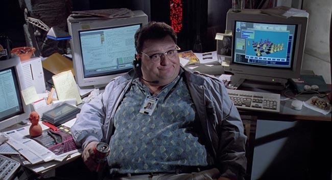 Dennis Nedry nel film Jurassic Park