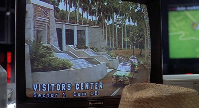 Partenza del tour del Jurassic Park