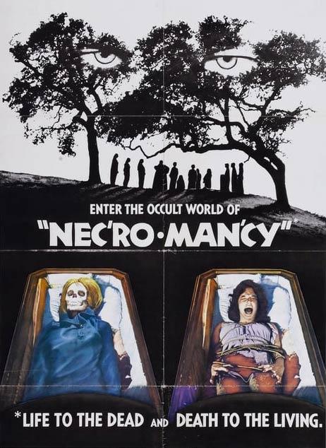 Locandina originale di Necromancy con Orson Welles