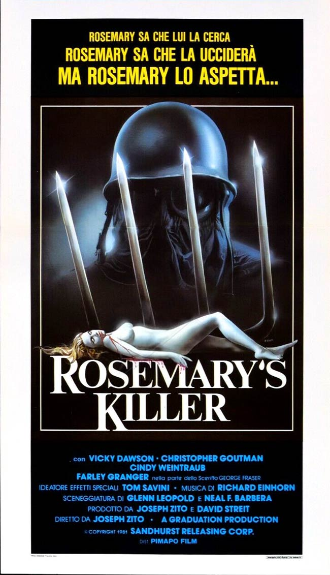 Locandina italiana di Rosemary's Killer